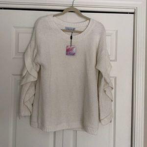 Chicwish Ruffle Sleeve Sweater